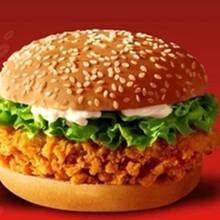 鸡肉汉堡的做法,成得林食品图片
