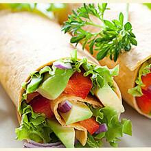 餐厅专用墨西哥鸡肉卷批发厂家图片