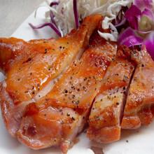 香脆腿排美味上线香脆鸡排堡图片