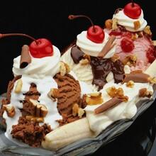 西餐厅休闲小吃店专用冰淇淋奶浆图片