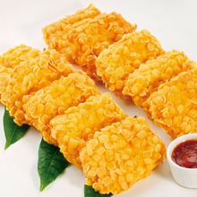 黄金鲜虾饼的做法步骤图菜谱图片