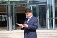 中小企业协会店数科技公益消毒防疫中国行走进山东青年政治学院