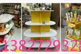 圆形展示柜展示货架超市货架