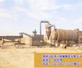中山6210滚筒式沙子烘干机安装现场