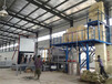 供應畢節每小時產8噸保溫砂漿生產設備工作現場