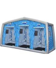 美式三人洗消帳篷圖片