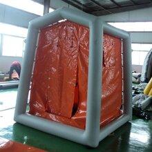 邦麥爾4平米單人洗消帳篷,生產邦麥爾單人洗消帳篷優質服務圖片