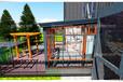 小小庭院阳光房也能美的精致