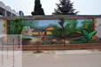 张家口主题酒店墙绘/张家口主题手绘墙/张家口主题彩绘/张家口主题墙绘