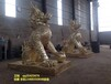 銅雕麒麟鑄造廠家,鑄銅麒麟,銅獅子定制
