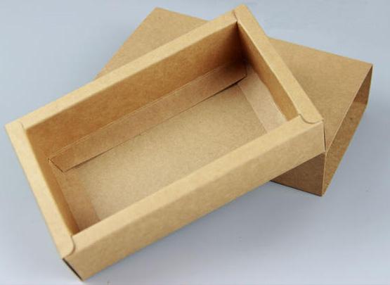 【牛皮纸纸盒制作,异形盒设计制作