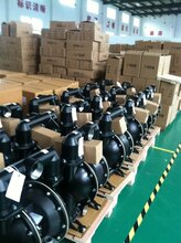 新疆乌市煤矿用隔膜泵批发2.5寸气动防爆隔膜泵图片