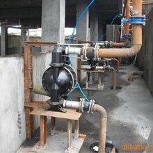 天津重庆BQG40-190/0.1气动隔膜泵矿用大流量排污气动隔膜泵图片