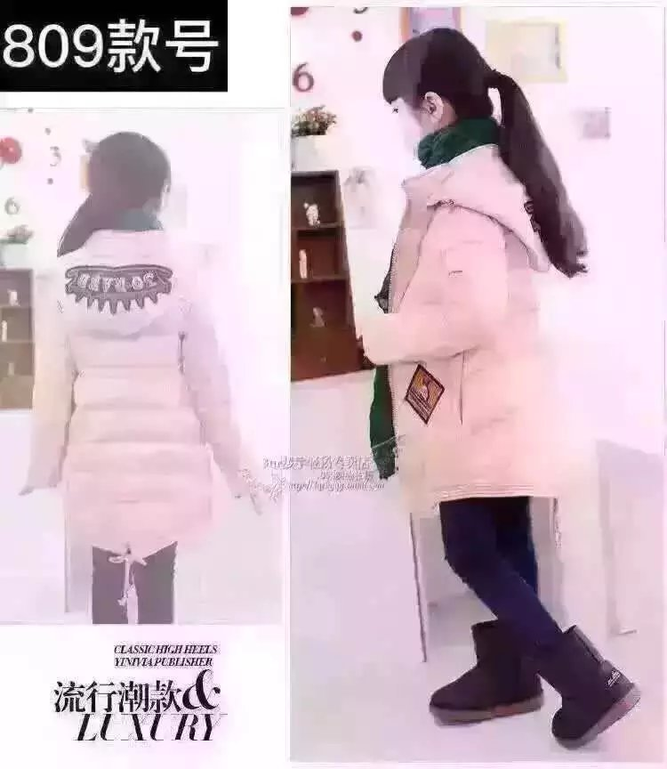 男女童装尾货服装图片