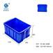 工业自动化系统塑料周转箱哪里有卖赛普厂家供应