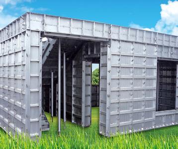 铝合金建筑模板+广东铝合金模板生产厂家
