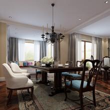 麓山国际橡树坡别墅装修设计案例-成都尚层别墅装饰