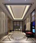 龙湖青城小院别墅装修设计效果图-成都尚层别墅装饰装修公司图片