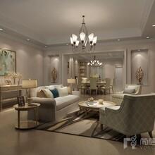 富豪新岸别墅装修设计效果图-成都尚层别墅装饰装修公司图片