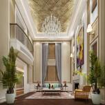 保利狮子湖别墅装修设计欧式风格效果图-成都尚层别墅装饰装修公司图片