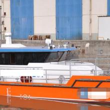 出售雙體鋁合金交通艇圖片