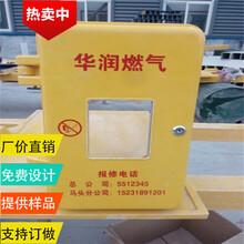 河北省枣强县SMC模压一表位农村煤改气天燃气表箱生产加工厂家报价图片