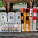 内蒙古玻璃钢道口警示桩价格