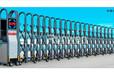 优质不锈钢伸缩门/六安电动伸缩门/安徽电动门厂家