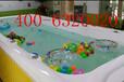 儿童游泳池厂家供戏水游泳池大型拼接组装钢结构儿童游泳池