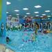 湖北十堰儿童游泳池厂家供池底加厚保温可组装儿童游泳池