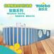 甘肅兒童水育早教整套輸出鋼結構大型兒童游泳池吸引客流量