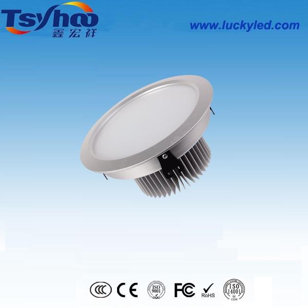 厂家直销鑫宏祥开孔185mm7寸LED筒灯高档家居防雾30W筒灯