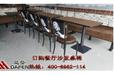 洛阳西餐厅桌椅自助餐桌椅达芬供应