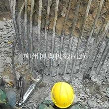 大理石巖石荒料開采博奧分裂機圖片