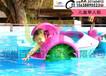 安徽淮北儿童水上手摇船批发,买水上塑料船到百美厂家