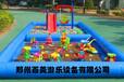 河北襄樊儿童充气沙滩池摆摊充气池子百美专注宝宝世界