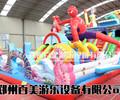 购买郑州百美儿童气垫蹦蹦床,充气大滑梯没有后顾之忧