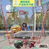 江苏泰州室外儿童新款钢架弹跳蹦蹦床,产品打造自身的优势