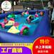 江苏盐城室外儿童充气水池,水上手摇船手划船双人船为亲子量身打造