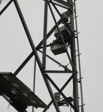 杆塔倾斜状态监测终端兼具分析和告警图片