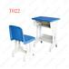 贵港厂家直销已安装单人学习桌配套课桌椅学生书桌组合套装