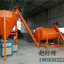 看看荥阳同鼎机械厂生产的预拌砂浆斗提