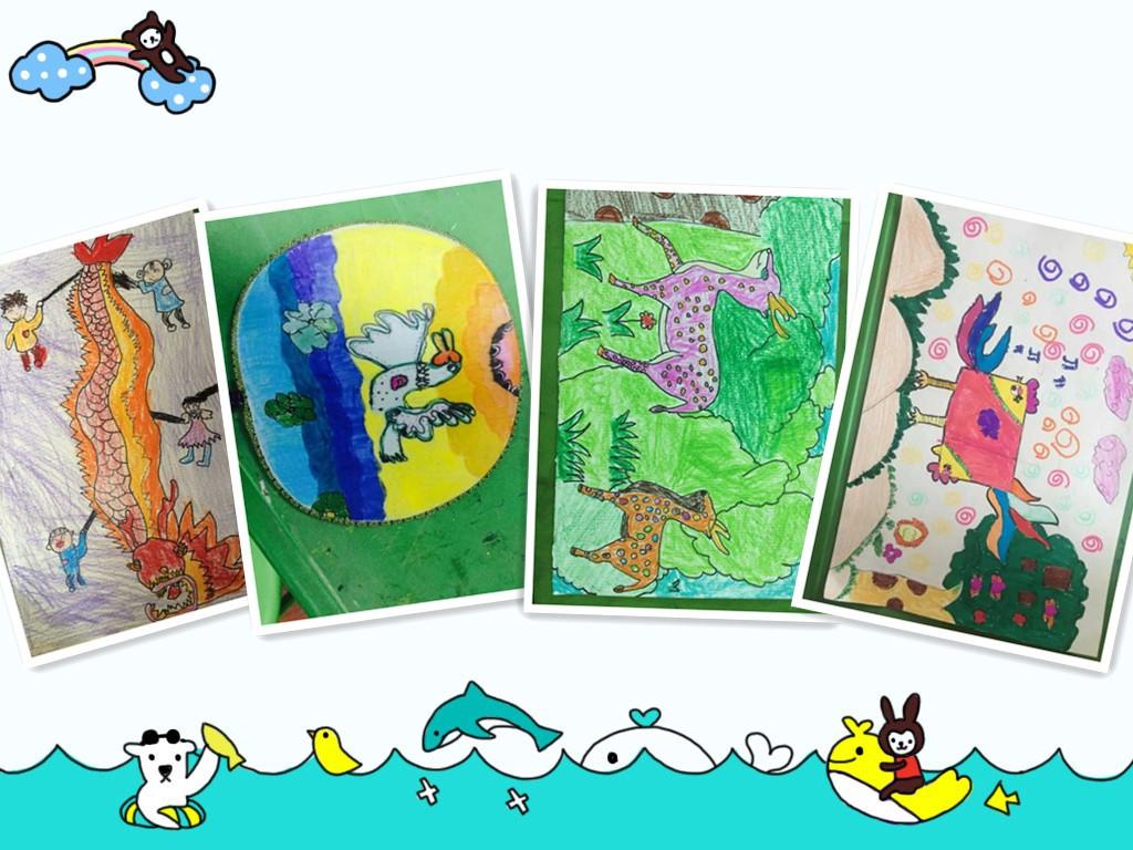 嘉定幼儿园美术画画培训小班授课创意画培训