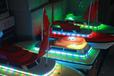 最新地摊项目儿童游乐设备方向盘遥控船公园创业儿童游乐设施