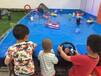 苏州方向盘遥控船儿童游乐碰碰船广场水上儿童遥控船