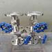 上海J43H/W测量管路不锈钢法兰针型截止阀沪甄高压不锈钢针型阀