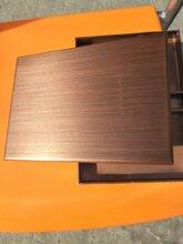 拉丝铝单板厂家图片
