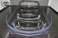 奔驰S320改装S65AMG前杠S500排气管AMG轮毂S63字标