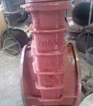 供应铸钢软密封闸阀Z65X-16C焊接软密封闸阀厂家图片