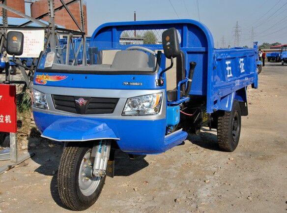 柴油自卸三轮车图片